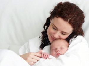первые дни после роддома