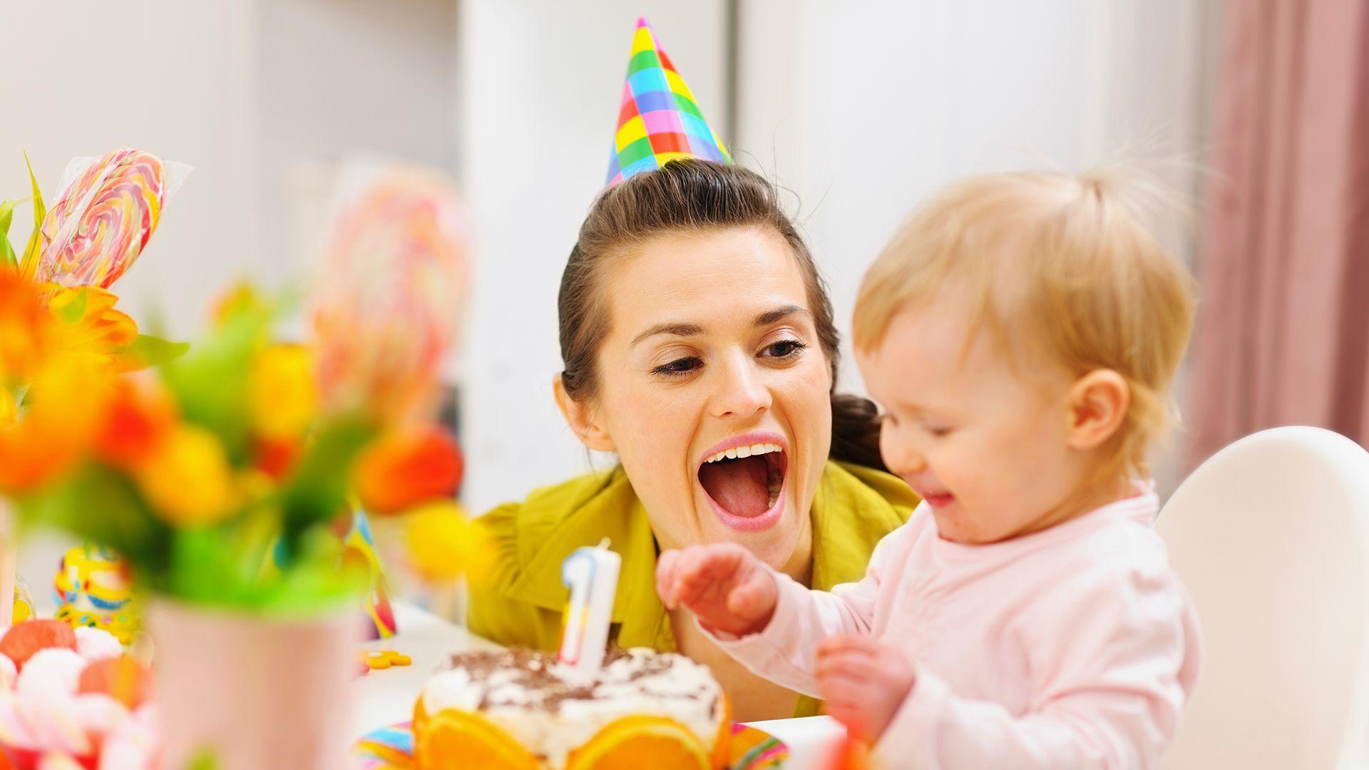 День Рождения с мамой