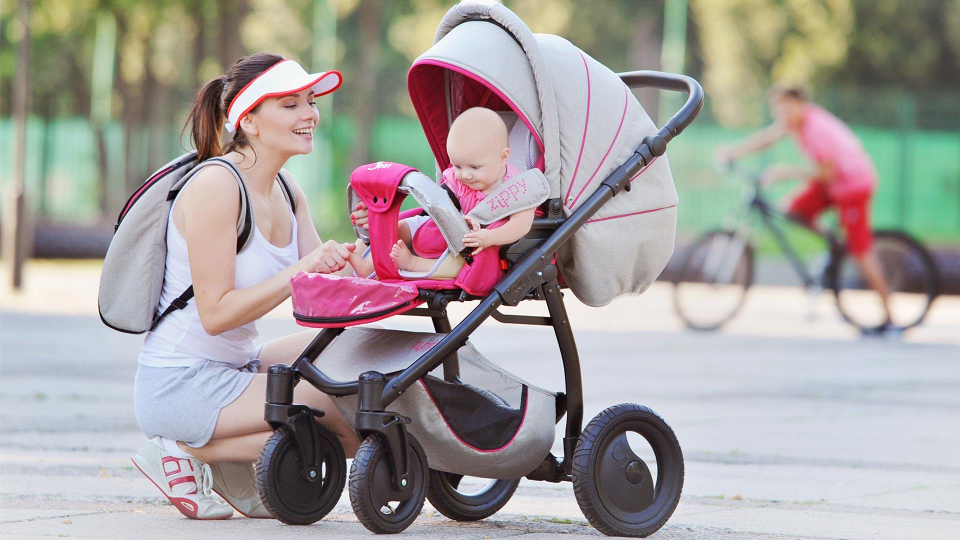 Ребёнок в коляске