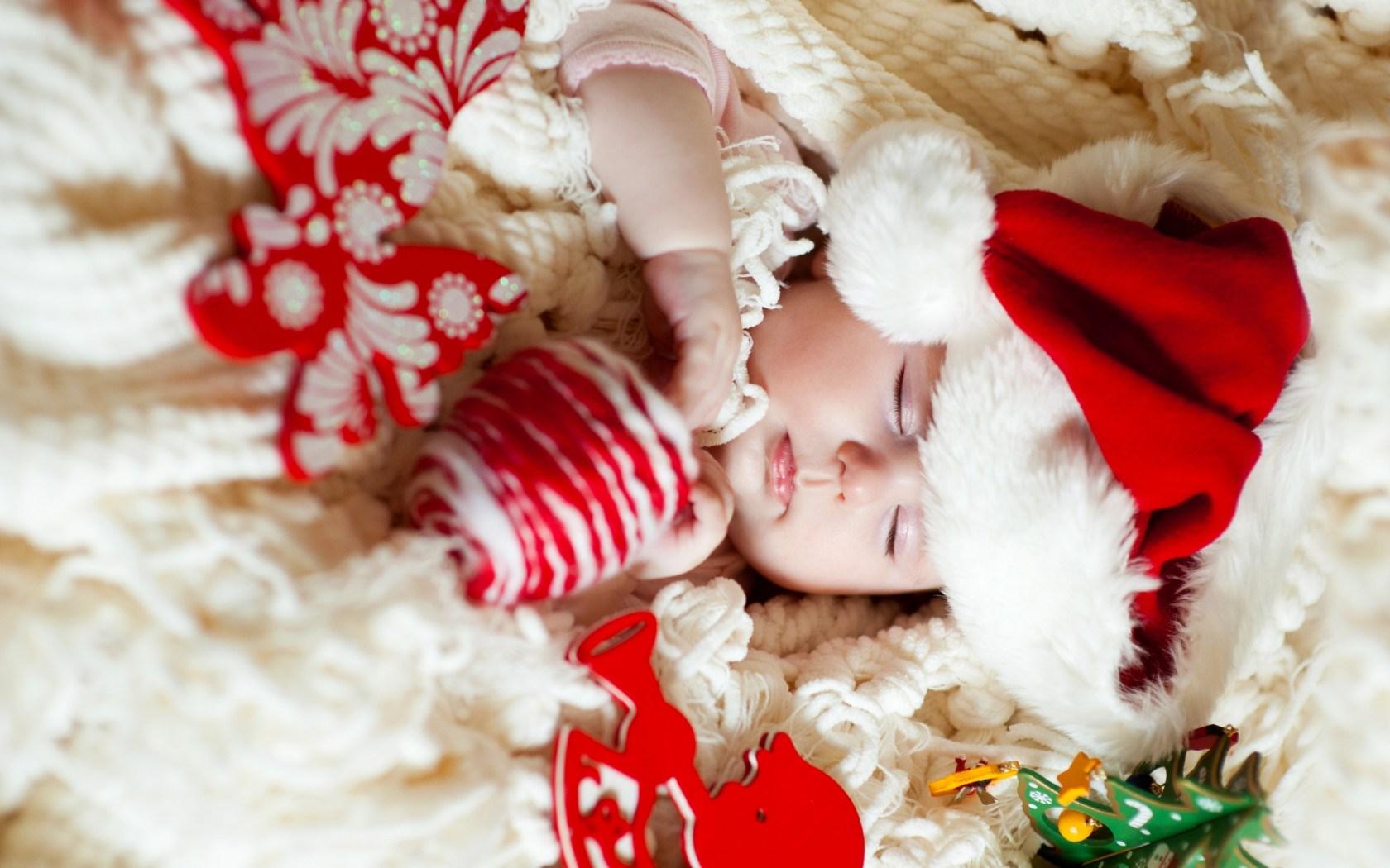 Сон ребенка в Новогоднюю ночь